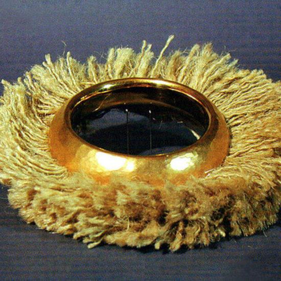 Bransoleta ze Sznurkami. Praca wystawowa z 1998 roku.